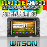 Witson S160 Car DVD GPS Player for Hyundai I30 (2007-2011) Manual Air-Condition with Rk3188 Quad Core HD 1024X600 Screen 16GB Flash 1080P WiFi 3G Front(W2-M024)
