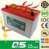 JIS-N80, NX120-7 12V80AH,DIN Dry Charged Car Battery Storage Truck