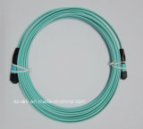 MPO Multimode 12 Cores Fiber Optic Ribbon Cable