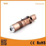 Y41 Xml T6 LED Aluminum Rechargeable Flashlight