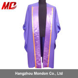Deluxe Master Graduation Cap Gown-Fluted Back