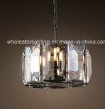 Round Square Crystal Chandelier (WHG-880)