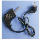 Plug Adjustable Bimetal Grill Thermostat for Water Heater Fry Pot Frying