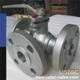 Cast Stainless Steel Multi-Port or 3 / Three Way Ball Valve with L or T Port