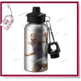 600ml Sliver and White Sublimation Coated Water Bottle Wholesale