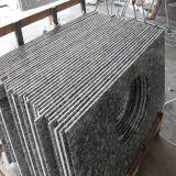 Spray White Granite Stone Tiles Countertops for Kitchen