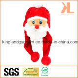 Quality Christmas Festival Decoration Red Santa Hat with Pompom