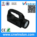 Portable LED Hand-Recharge Inspection Searchlight with CE