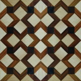 Maple, Teak, Walnut Art Splicing Multi-Layer Parquet Floor