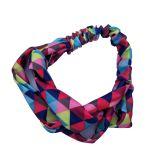 Colorful Fashionable Fabric Cross Headbands