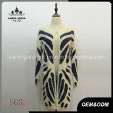 Women Knitted Long Sleeve Cardigan Faux Fur Coat