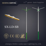 50W Solar Street Light Hot DIP Galvanizing Ploe