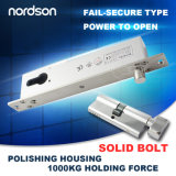 Fail Secure Sturdiness Electric Bolt with Cylinder for Narrow Door