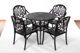Leisurely Outdoor 5 Piece Dining Aluminum Furniture W/O Cushion