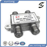 Hot Sale High Return Loss 3 Way 5-1000MHz Indoor CATV Splitter