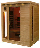 Far Infrared Hemlock Sauna with Carbon and Ceramic Mixed