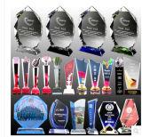 2014 China Supplier Hot New Products Crystal Award, Wholesale Custom Crystal Award Shapes