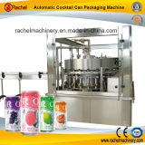 Automatic Cocktail Can Filling Capping Equipment