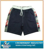 Men′s Beach Short with Allover Printing Side Panel