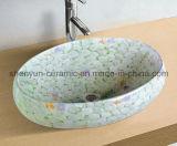 Ceramic Basin Bathroom Color Basin (MG-0046)