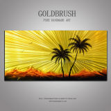 Dimlight Vision 3D Effect Under Light Metal Wall Art