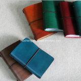 Retro Handmade Genuine Leather Money Clip Wallet ID Card Holder