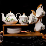 Bone China Dinner Set Ceramic Tea Set Fine Bone China Tea Coffee Set