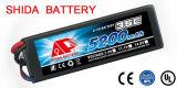 RC Car High Rate Lithium Battery Hard Case 5200mAh Akku