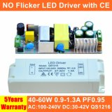 40-60W No Flicker Panel Light LED Power Supply with Ce QS1216