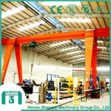 Shop Use Box Type Electric Hoist Gantry Crane