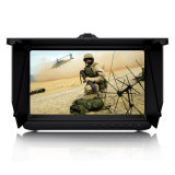 Battery Powered 7 Inch LCD Screen Full HD Real-Time 1080P Ahd DVR Support Fhdtvi, /Ahd/Analog with Sunshade & up to 128g Memory