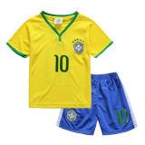 New Kids Soccer Jersey 15-16 Brazil Home