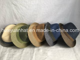 Mixed Color Paper Braid Sewn Braid Fedora Best Seller Best Price Straw Hat