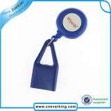 Plastic Retractable Badge Reel with Lighter Holder