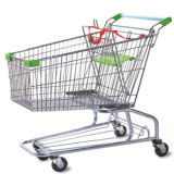 Used Basket Cart Supermarket Shopping Trolley