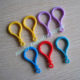 50mm Mixed Color Plastic Lobster Clasps Hook for Key Ring