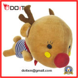 Cute Christmas Gift Plush Reindeer Stuffed Toy