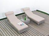 High Quality Outdoor Furniture Garden Patio Rattan Chaise Beach Sun Lounger