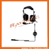 Steel Boom Mic Heavy Duty Headset with XLR Quick Disconnect