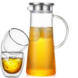 Pyrex Glass Water Kettle Glassware Glass Water Pitcher Set