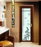 Modern Wooden/Aluminum Glass Single/Double Swing Door/Side Hung Door
