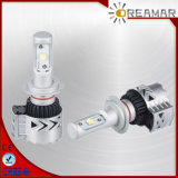 38W 6000lm CREE Chip Automobile Headlight with 6000K, Warranty 2 Years
