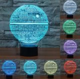 Room Decor Gift 7 Color 3D LED Nightlight USB Touch Sensor Table Lamp