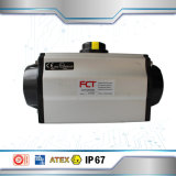 Single Acting Aluminium Pneumatic Rotary Actuator