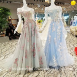 Blue Pink Prom Gowns Beading Sweetheart Party Evening Dress PA971