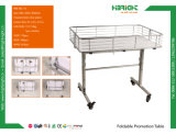 Supermarket Foldable Promotion Display Stand