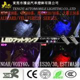 Tyal-Xgr LED Car Auto Foot Inner Interior Lamp Light for Toyota Estima 50 Noah/Voxy 60 Alphard/Vellfire20/Prius 20/30 Series