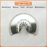86mm (3-3/8′′) Diamond Grit Oscillating Semicircle Flush Cut Tool Blade