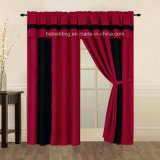 Running Stock 100% Polyester Microsuede Curtain