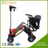 Aluminium Light Brushless Folding Adult Electric Mobility Scooter